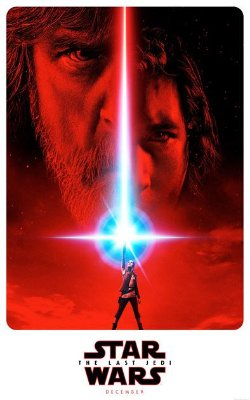 Ímã Decorativo Pôster Star Wars Os Últimos Jedi - IPF214