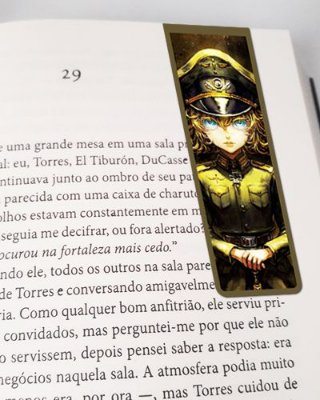 Marcador De Página Magnético Tanya - Saga of Tanya the Evil - MAN753