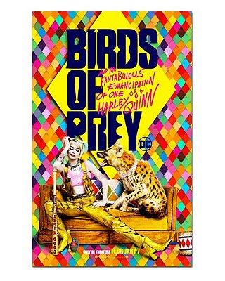 Ímã Decorativo Pôster Birds of Prey - IPF589