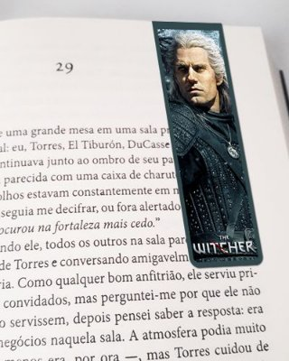 Marcador De Página Magnético Geralt - The Witcher - MTW16