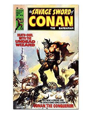 Ímã Decorativo Capa de Quadrinhos Conan - CQO01