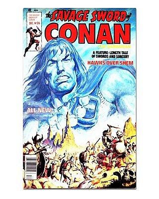 Ímã Decorativo Capa de Quadrinhos Conan - CQO02