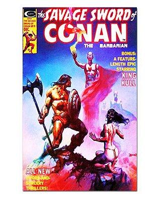 Ímã Decorativo Capa de Quadrinhos Conan - CQO04