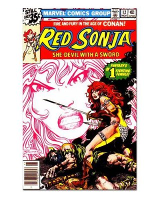 Ímã Decorativo Capa de Quadrinhos Red Sonja - CQO10