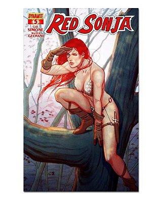 Ímã Decorativo Capa de Quadrinhos Red Sonja - CQO12