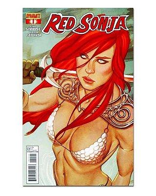 Ímã Decorativo Capa de Quadrinhos Red Sonja - CQO14