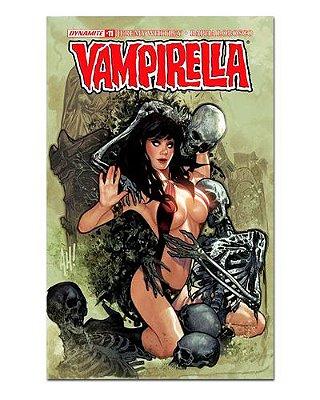 Ímã Decorativo Capa de Quadrinhos Vampirella - CQO17