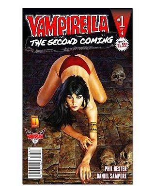 Ímã Decorativo Capa de Quadrinhos Vampirella - CQO18