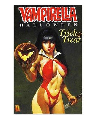 Ímã Decorativo Capa de Quadrinhos Vampirella - CQO20