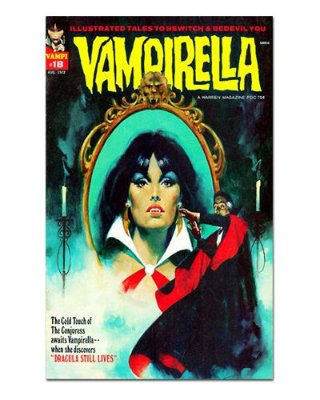 Ímã Decorativo Capa de Quadrinhos Vampirella - CQO21