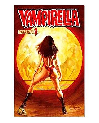 Ímã Decorativo Capa de Quadrinhos Vampirella - CQO22