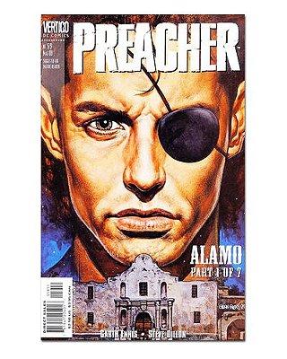 Ímã Decorativo Capa de Quadrinhos Preacher - CQO32