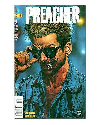 Ímã Decorativo Capa de Quadrinhos Preacher - CQO33