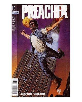 Ímã Decorativo Capa de Quadrinhos Preacher - CQO34