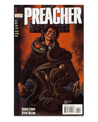 Ímã Decorativo Capa de Quadrinhos Preacher - CQO37