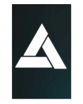 Ímã Decorativo Abstergo - Assassin's Creed - IAC23
