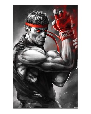 Ímã Decorativo Ryu - Street Fighter - ISF05
