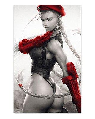 Ímã Decorativo Cammy - Street Fighter - ISF08