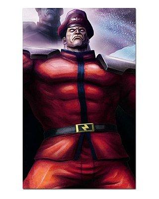 Ímã Decorativo M. Bison - Street Fighter - ISF18