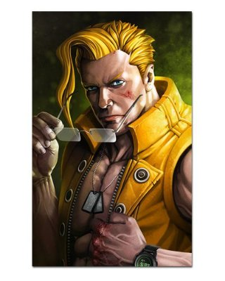 Ímã Decorativo Charlie - Street Fighter - ISF23