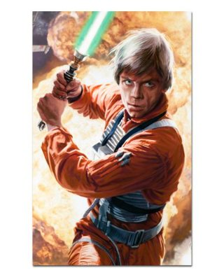 Ímã Decorativo Luke Skywalker - Star Wars - ISW73