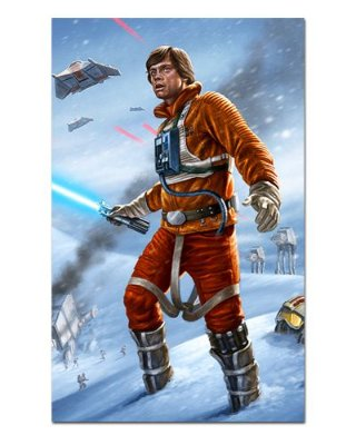 Ímã Decorativo Luke Skywalker - Star Wars - ISW09