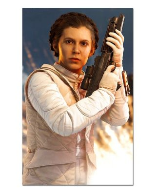 Ímã Decorativo Leia Organa - Star Wars - ISW11