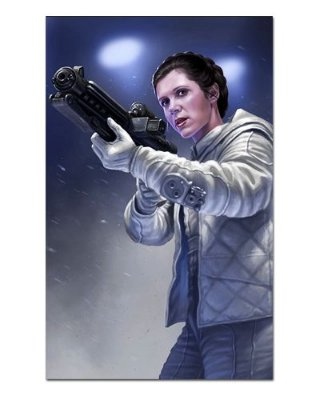 Ímã Decorativo Leia Organa - Star Wars - ISW13