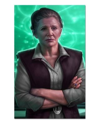 Ímã Decorativo Leia Organa - Star Wars - ISW14