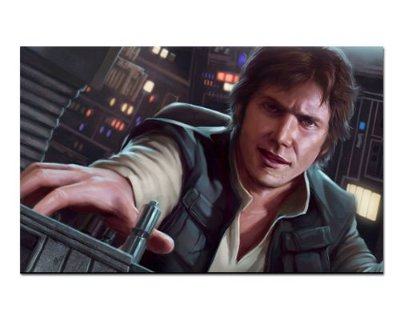 Ímã Decorativo Han Solo - Star Wars - ISW23