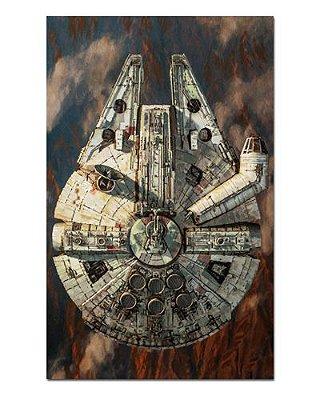 Ímã Decorativo Millennium Falcon - Star Wars - ISW31