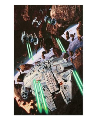 Ímã Decorativo Millennium Falcon - Star Wars - ISW32