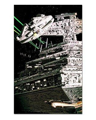 Ímã Decorativo Millennium Falcon e Destroyer - Star Wars - ISW33