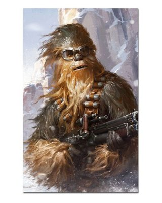 Ímã Decorativo Chewbacca - Star Wars - ISW34