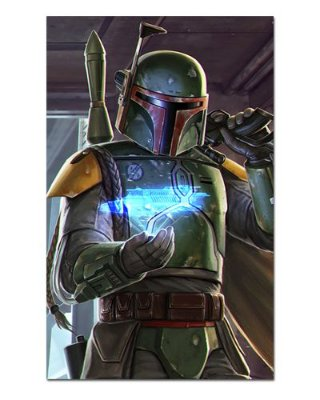 Ímã Decorativo Boba Fett - Star Wars - ISW37