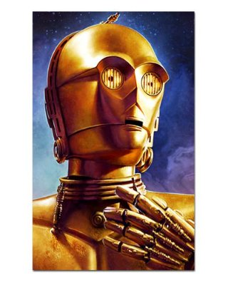 Ímã Decorativo C-3PO - Star Wars - ISW44