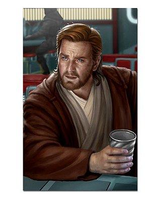 Ímã Decorativo Obi-Wan Kenobi - Star Wars - ISW46