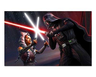 Ímã Decorativo Ahsoka Tano vs Dart Vader - Star Wars - ISW60