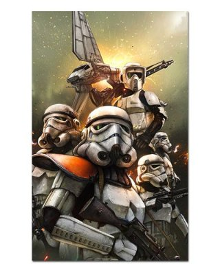 Ímã Decorativo Stormtrooper - Star Wars - ISW63