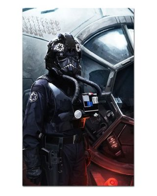 Ímã Decorativo Tie Pilot - Star Wars - ISW65