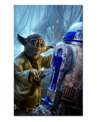Ímã Decorativo Yoda - Star Wars - ISW69
