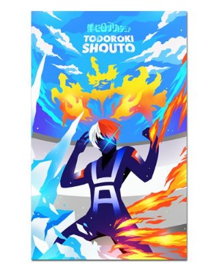 Ímã Decorativo Todoroki - My Hero Academia - IMHA34