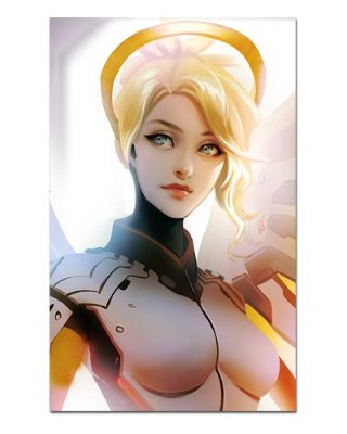 Ímã Decorativo Mercy - Overwatch - IOW09