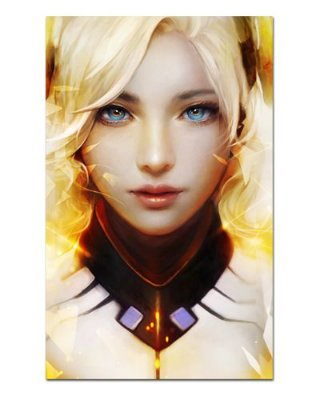Ímã Decorativo Mercy - Overwatch - IOW38