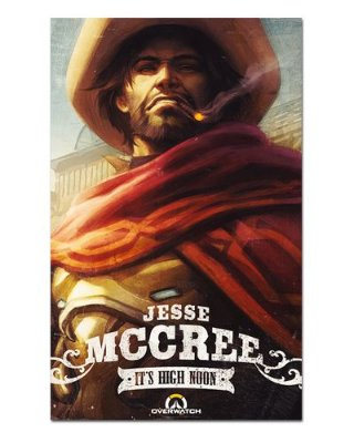 Ímã Decorativo McCree - Overwatch - IOW16