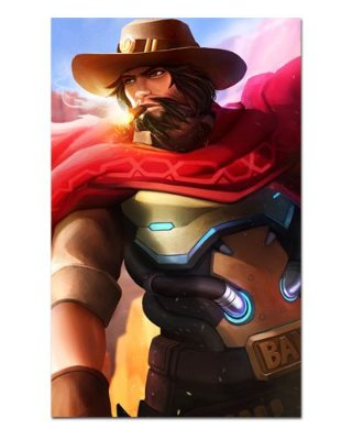 Ímã Decorativo McCree - Overwatch - IOW17