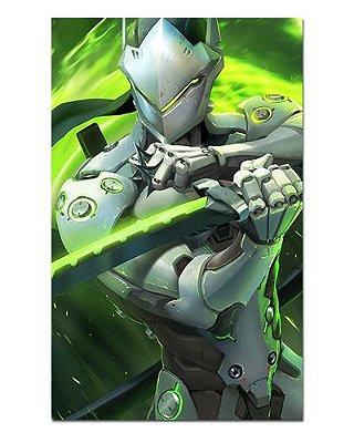 Ímã Decorativo Genji - Overwatch - IOW19
