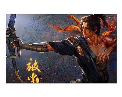 Ímã Decorativo Hanzo - Overwatch - IOW24