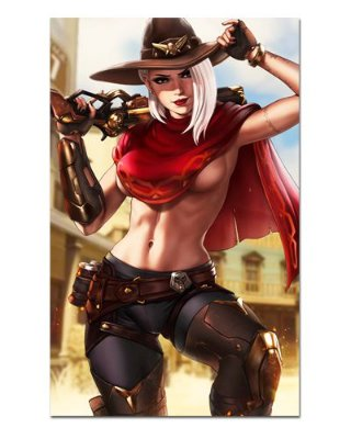 Ímã Decorativo Ashe - Overwatch - IOW26