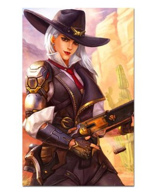 Ímã Decorativo Ashe - Overwatch - IOW27